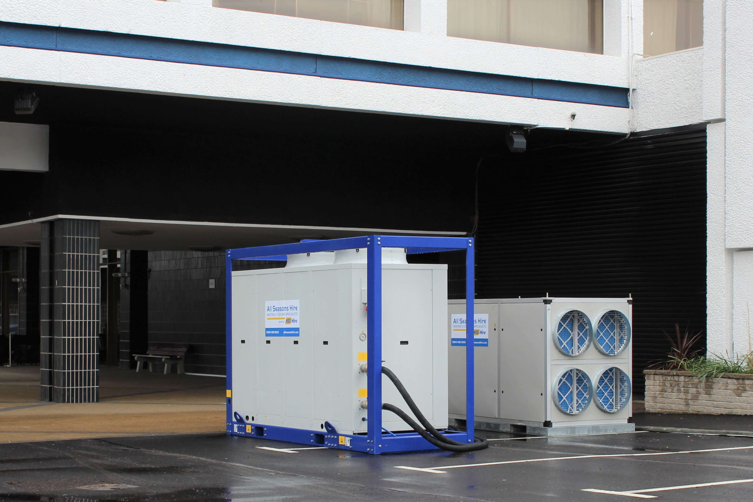 Comfort Cooling Package Supplied For Hotel's Conference Centre Facilities