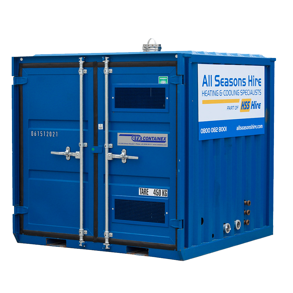 100 KW CONTAINERISED BOILER