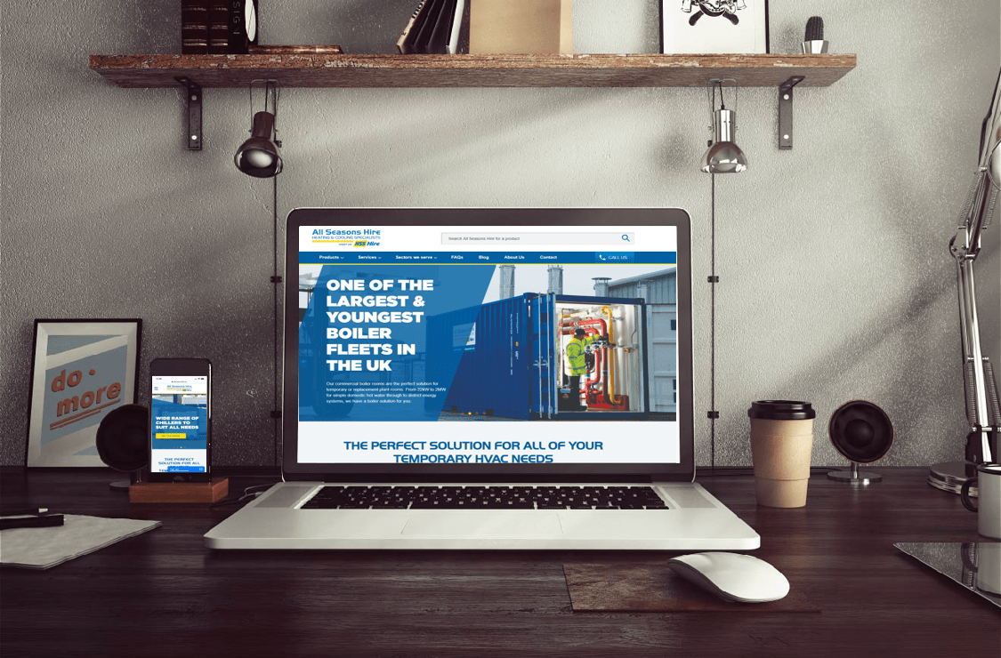 Introducing the new All Seasons Hire website
