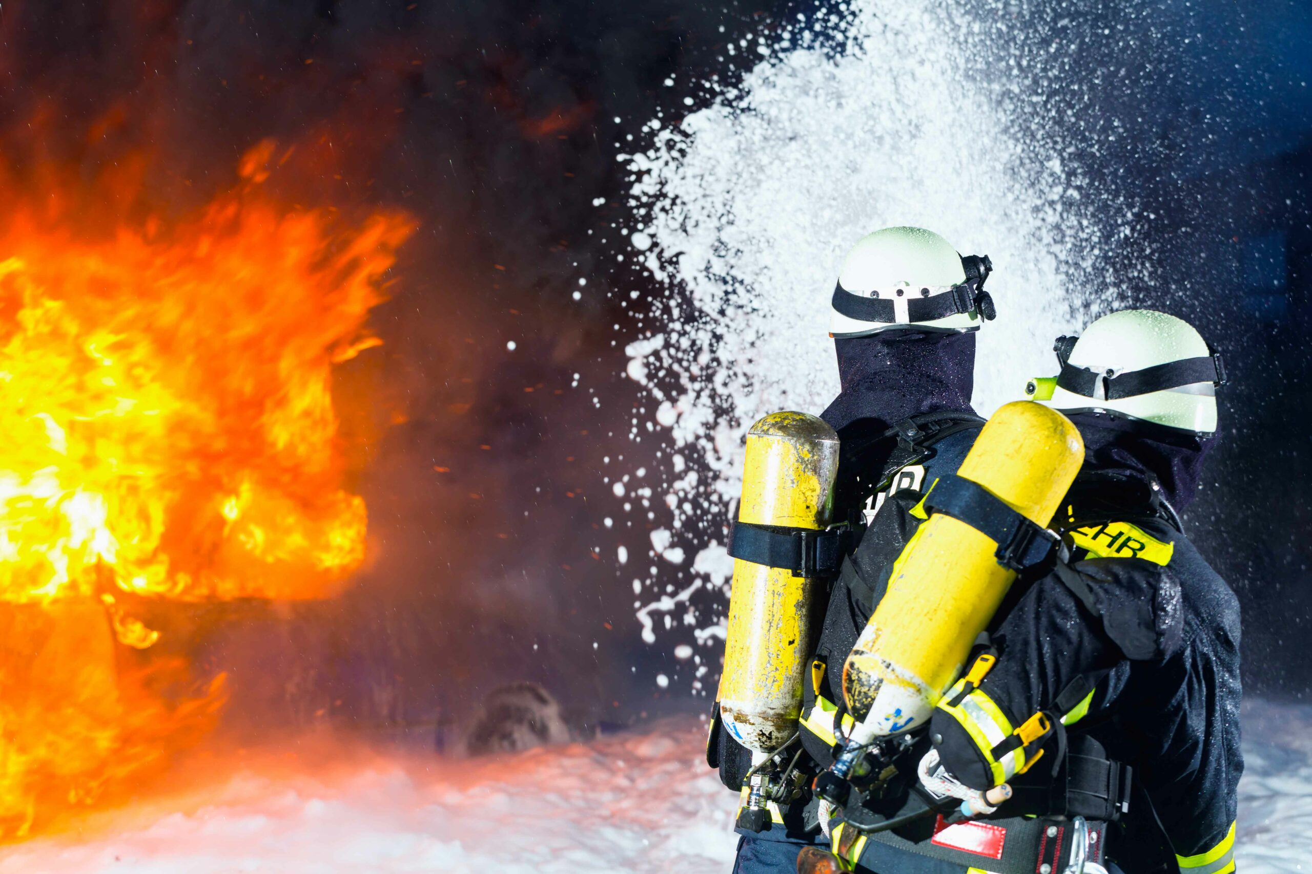 Fire at Paper Recycling Plant