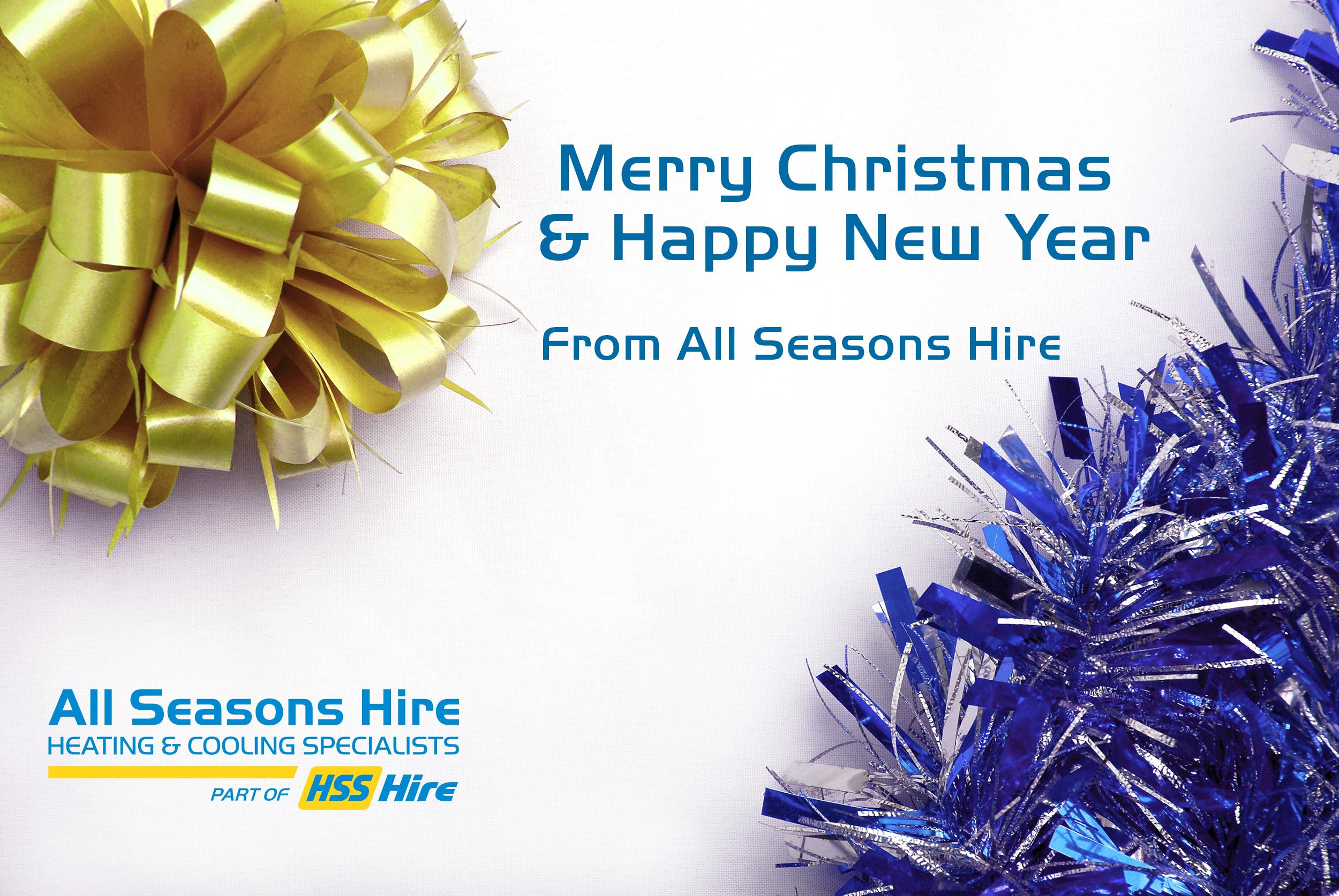 Merry Christmas from All Seasons Hire!